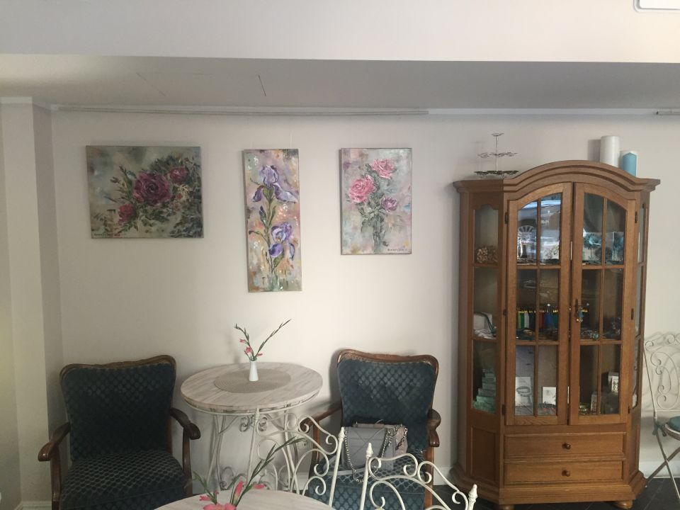 My new works at Art Boutique Cafe