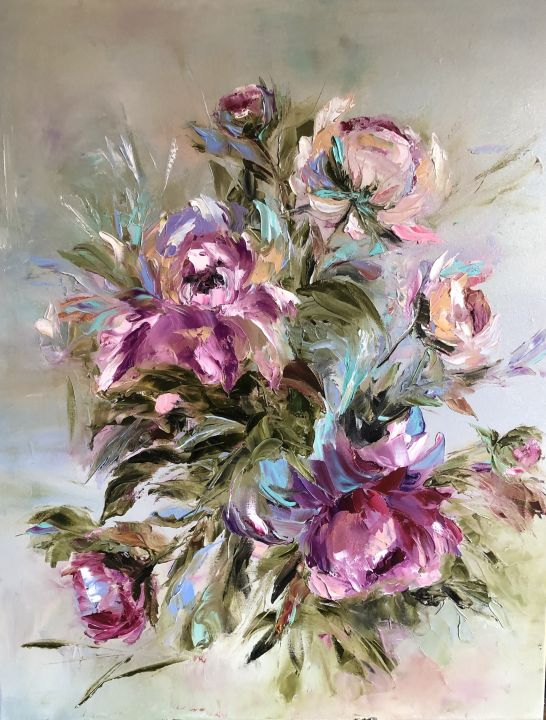 Symphony with peonies